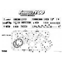 TYCO Bilbana MONZA 18.3 (begagnad)